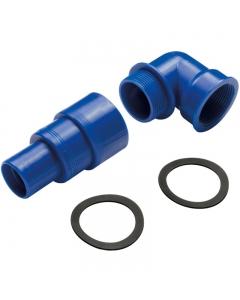 Vulaansluiting kit voor 38-50-60mm slang