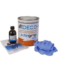 Adeco Adegrip PVC rubberboot lijm 2 componenten 850g