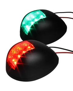 Boordlicht LED set 80mm tot 12m zwart