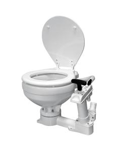 Boot Toilet met handpomp compact