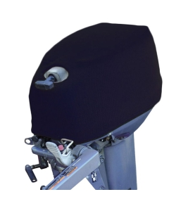 Buitenboordmotorhoes 40x20x25cm acryl blauw