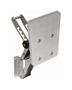 Buitenboordmotorstoel voor BB tot 40kg Rvs met kunststof plank