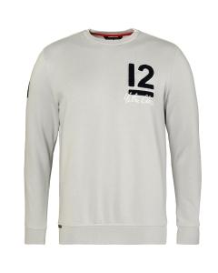 Code Zero 12M College Sweater Men grijs