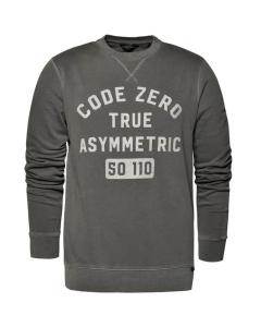 Code-Zero Batten Sweater Anthracite