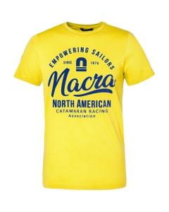 Code Zero Nacra Empowering T-shirt Men geel