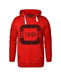 Code Zero Transire Hooded Sweat Red
