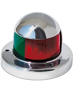 Combi navigatielicht LED 61x46mm bb en sb tot 12m Rvs
