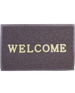 Deurmat Welcome on Board 57x37cm bruin