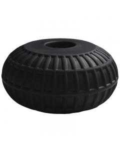 Dockwheel los 30x15cm zwart