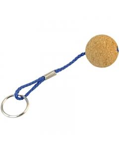 Drijvende sleutelhanger kurk 35mm