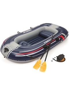 Hydro Force Raft opblaasboot 255cm met peddels en voetpomp