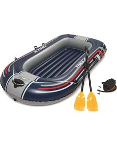 Hydro Force Treck X1 opblaasboot 228cm met peddels en voetpomp