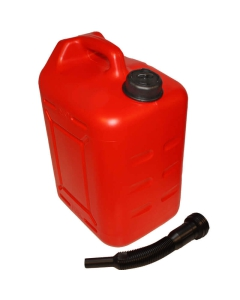 Jerrycan met schenktuit 22 liter