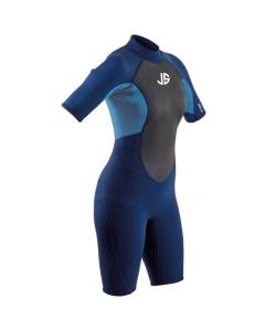 JS Maui Flex 3/2 FL shorty wetsuit dames
