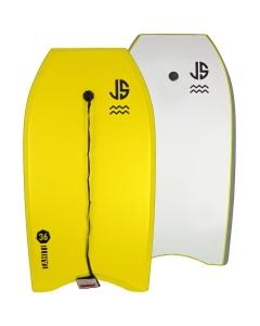 """JS Tahiti 36"""" Bodyboard geel"""