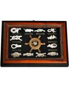 Knopenlijst 18 x 13cm met stuurwiel