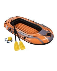 Kondor 2000 opblaasboot 188cm inclusief peddels en voetpomp