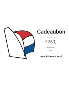 Cadeaubon 250 euro