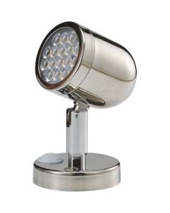 Leeslamp LED 12 volt 132mm 3.1 Watt Rvs