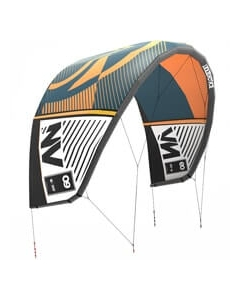 Liquid Force NV kite 7 Oranje/Donkerblauw