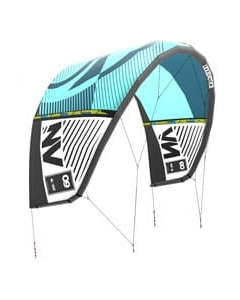Liquid Force NV kite 13.5 Turquoise/Donkerblauw
