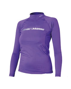 Magic Marine Cube rash vest long sleeve meisjes