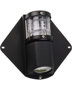 Mast toplicht met dekverlichting LED tot 20m