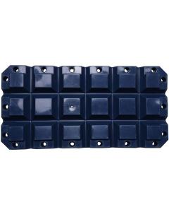 Multifender 60x30x8cm donkerblauw