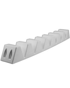 Multifender 60x7x6cm wit