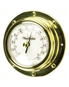 Nauticalia Barometer rivet-style messing 10cm