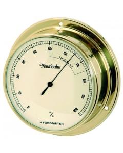 Nauticalia Hygrometer messing 12.5cm
