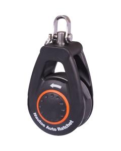 Nautos 57mm auto ratelblok met wartel