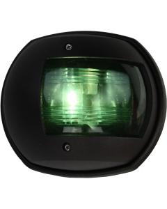 Navigatielicht stuurboord 130x114mm tot 20m zwart