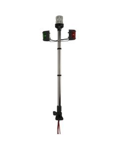 Navigatieverlichting set 60cm klapbaar Rvs