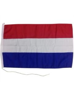 Nederlandse vlag boot 40 x 60cm