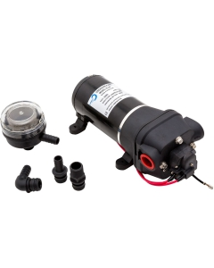 Ocean waterpomp 10 l/min met filter 12V 17PSI