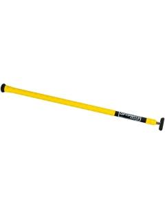 Optimist Helmstokverlenger 60cm x 20 mm X-gripped geel