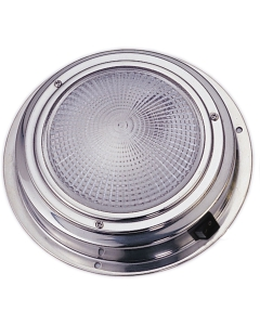 Plafondlamp boot LED 12 volt 137mm Rvs