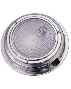 Plafondlamp boot LED 12 volt 168mm Rvs