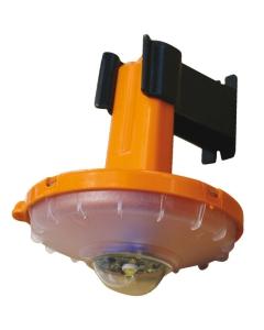 Reddingsboei LED licht compact SOLAS met houder