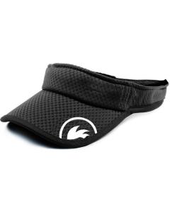 Rooster Aeromesh visor zwart