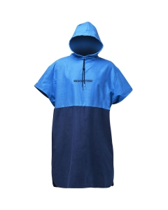 Rooster microfibre quick dry omkleed poncho junior