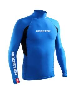 Rooster rash vest long sleeve blauw