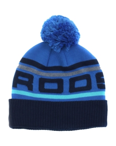 Rooster Recycled Knit Beanie Blauw