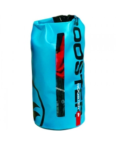 Rooster roll top dry bag lichtblauw 10L