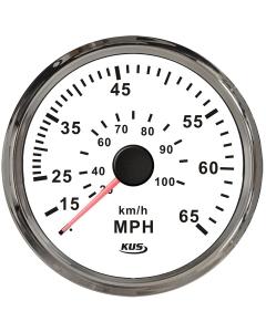 Snelheidsmeter tot 65 mph 97mm