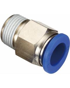 """Snelkoppeling luchtdruk- en waterslang 12mm naar 1/2"""" recht"""