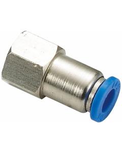 """Snelkoppeling luchtdruk- en waterslang 12mm naar 1/2"""" binnendraad recht"""