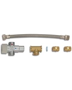 Thermostatische mengkraan voor Quick boiler