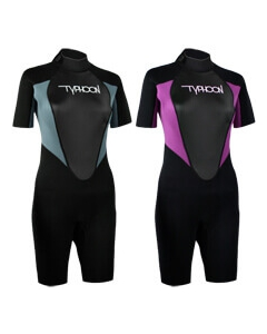 Typhoon Storm 3mm shorty wetsuit dames